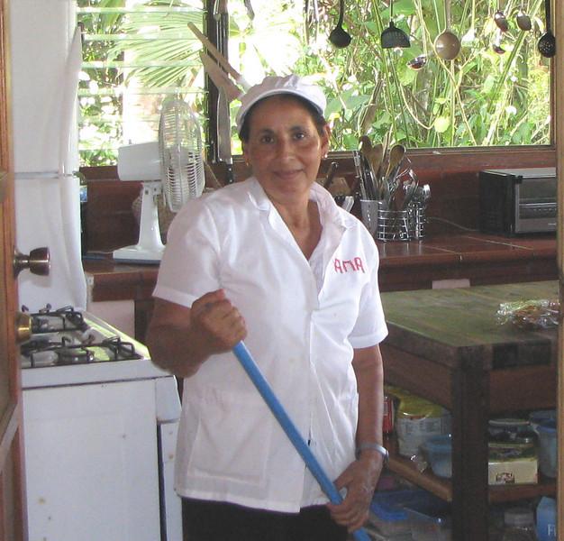 Finca Luna Nueva - Ana, One Of The Great Cooks