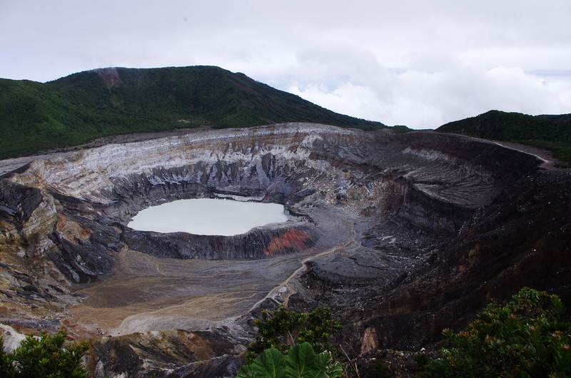 Poas Volcano National Park, 6th January 2017: Caldera