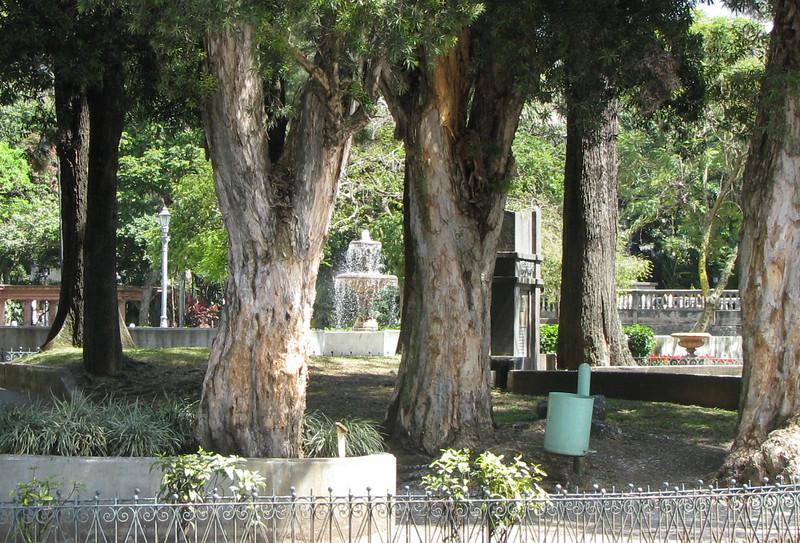 Downtown San Jose - Park Area Across Street From Parque Espana