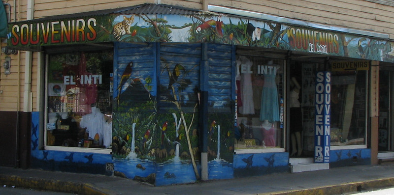 Downtown San Jose - Artwork on Shop