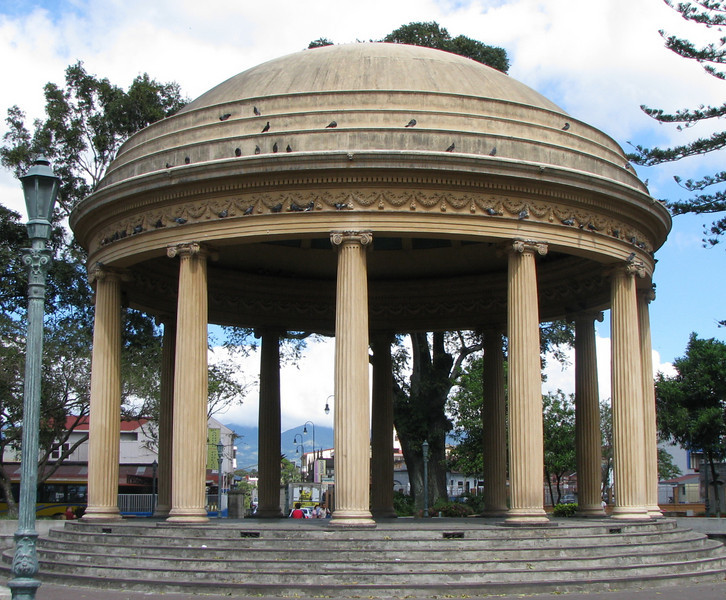 Downtown San Jose - Parque Morazan - Temple of Music