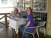 Downtown San Jose - Kathy and Donna at Cafe Posado for Lunch
