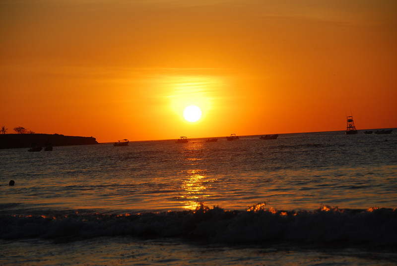 Sunset in Tamarindo, Costa Rica