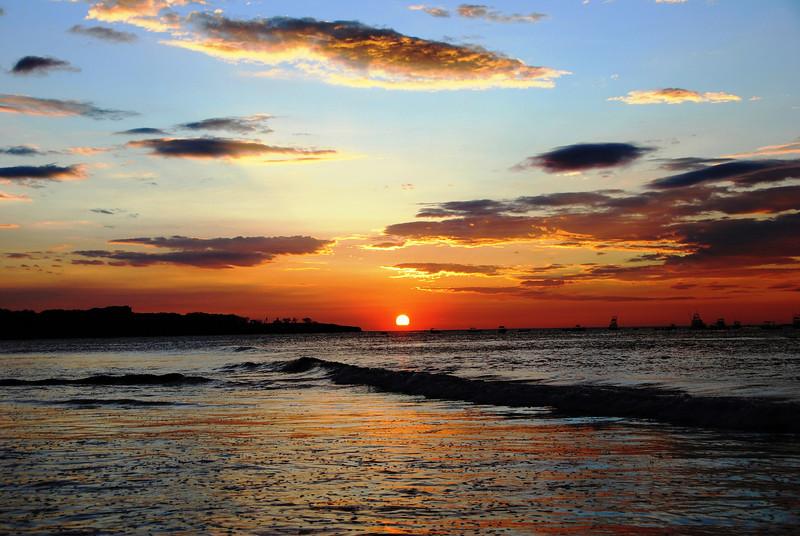Sunset in Tamarindo, Costa Rica