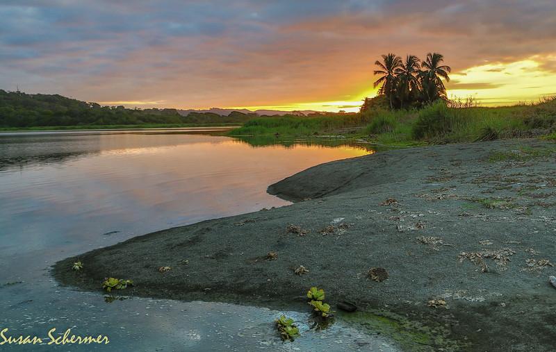 Sunrise on the Lagoon<br /> (HDR image)