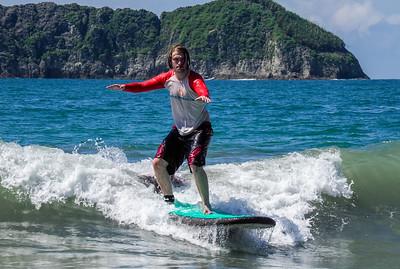 Surfing, Manuel Antonio, Costa Rica