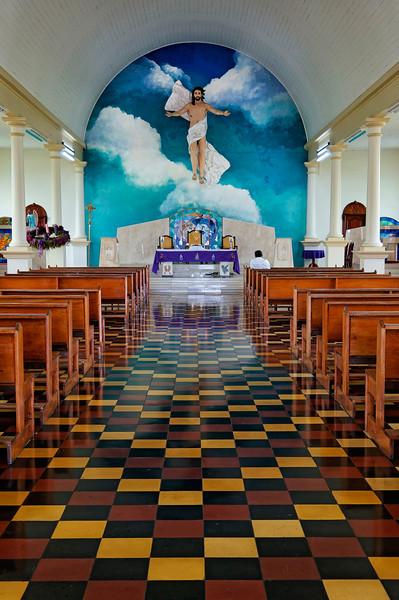 Church in La Fortuna, Costa Rica