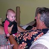 Grandbaby Astrid was just five months old at the time.