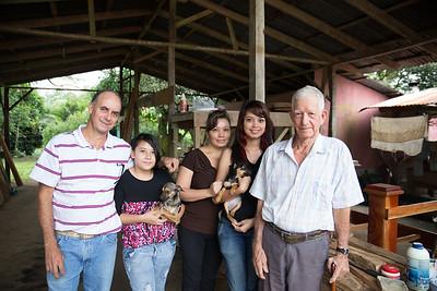 Costa Rican Family