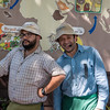 Our tour guides at Britt Coffee Plantation