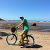 we rented bikes on day and rode on Samara beach and over to the next beach