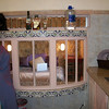 This is the view looking into my bedroom from the kitchen!
