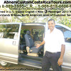 Abner Arias with Abner's Custom Costa Rica Tours <br> http://AbnersCustomCostaRicaTours.com  info@AbnersCustomCostaRicaTours.com  (506) 8-889-7555-CR  •  1-908-818-0606-U.S.  •  Skype: Abner506  for ALL your Costa Rica travel needs - everything from Airport Greets • Airport Transfers throughout Costa Rica • Executive Driver•Chauffer • Visa Runs•Trips to Nicaragua or Panama • Custom Travel Planning • Reserving Tours & Hotels throughout Costa Rica  • Tour Guide++!!!  Abner speaks Good English, has Lived in the U.S. so he UNDERSTANDS & GIVES North American level of Customer Service & he's VERY HONEST & Trustworthy!!!!  Payment: Cash (U.S. $ or Colon) or Credit Card (Visa or MasterCard) .