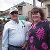 Gene & Jasona at the Feria/Farmers Market!