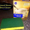 """Baking Soda Shower Door Cleaner<br /> <br /> Who knew? Not me! My friend Laura told me about this tip a few weeks ago and I tried it out. It is a great non toxic way to clean your shower doors and works! Just wet your sponge add baking soda (it makes a paste) and clean. That is all all you need! Just 1 ingredient! It breaks down soap scum easily.<br /> Of course you know I love essential oils so I decided to add a couple of drops and that works even better! You can easily add any citrus essential oil (lemon, lime, grapefruit, orange or citrus bliss) for a bonus aroma and extra disinfectant Your shower doors will sparkle too! Not only that but it deodorizes at the same you will love the scent.<br /> You can learn more about Essential Oils. I hope you enjoy this tip! It is a money saving non toxic way to clean.<br /> <br /> <a href=""""http://StockPilingMoms.com/2013/04/baking-soda-shower-door-cleaner"""">http://StockPilingMoms.com/2013/04/baking-soda-shower-door-cleaner</a><br /> <br /> <br /> It also works for cleaning the tub, sink and everything else in the bathroom...I save the baking soda from the fridge just for cleaning...it kept the fridg smelling good and now cleans the bathroom...YEA!...CHEAP!!!<br /> <br /> <br /> I use this paste to clean the handles on the doors of my refrigerator which always seem to have stubborn dirt marks that nothing would remove. My cleaning lady once told me they were permanent. Then I applied this paste and she was amazed that it all came right off.<br /> <br /> <br /> Cleaning Tupperware that stained you just make a past of baking soda and cream of tarter and it will clean your Tupperware right up. Bet that would work on a lot of other things too!<br /> <br /> <br /> Use baking soda to clean glass coffee pots - they come out clean and clear. Just use baking soda on a sponge to clean pot. Also use it on my stove top. It cleans without scratching"""