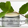 """VAPOR RUB!!   <br /> <a href=""""http://SmallFootprintFamily.com/homemade-vapor-rub-recipe"""">http://SmallFootprintFamily.com/homemade-vapor-rub-recipe</a><br /> <br /> Here's a special trick for getting maximum effectiveness from any vapor salve—especially for that nagging post-nasal drip cough:  Apply your Homemade Vapor Rub thickly to the soles of your feet, then put on socks over the salve, and lie down.<br /> <br /> Really. It works exceptionally well. I don't know why.<br /> Homemade Herbal Vapor Rub<br /> <br /> Tools<br /> <br />     Pot and small ceramic bowl, or small double boiler<br />     4 ounce canning jar, recycled jar or metal tin<br /> <br /> Ingredients<br /> <br />     1/2 cup (4 ounces) of shea butter or kokum butter or Un-Petroleum Jelly, as a cream base<br />     (OR you can combine 1/2 cup olive or coconut oil with 2 Tbsp. beeswax pastilles, if you have allergies to any of the above)<br />     4+ drops peppermint essential oil (A half-ounce bottle of essential oil can last a very long time and be used for many things.)<br />     4+ drops eucalyptus essential oil<br />     3+ drops rosemary essential oil<br />     3+ drops lavender essential oil<br />     3+ drops camphor oil<br /> <br /> Directions<br /> <br />     Melt the half cup of the cream base you have chosen (or the oil/beeswax base) by placing it in a bowl inside a larger bowl full of hot water. (If you have a very small double boiler, that would work too.) Do not heat the cream directly.<br />     You want your base to be as liquid and easy to mix as it can get. Remove from heat once it reaches a melted-chocolate consistency.<br />     Once your base cream is soft, add the oils one at a time, mixing each drop thoroughly into the cream. If you need to return the cream to the heat to keep it easy to mix, that's OK. Different bases melt and set at different temperatures.<br />     Once you have thoroughly mixed the oils into the base, let cool a bit, just enough to test on your skin.<br /> """
