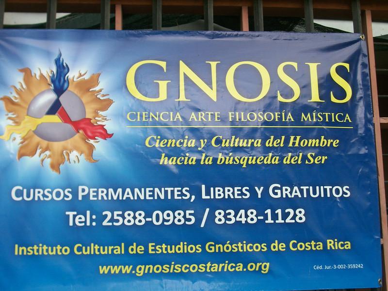 """GNOSIS<br /> Ciencia Arte Fiosofia Mistica<br /> Cursos Permanentes, Libres y Gratuitos<br /> Instituto Cultural de Estudios GnosTicos de Costa Rica<br /> 2-588-0985  •  8-348-1128<br /> <a href=""""http://GnosisCostaRica.org"""">http://GnosisCostaRica.org</a>   •   <a href=""""http://facebook.com/GNOSIS.Escazu"""">http://facebook.com/GNOSIS.Escazu</a><br /> ,"""