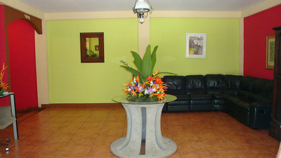 LOBBY  Zamora Estates Inn  Santa Ana, Costa Rica  http://Facebook.com/pages/Zamora-Estate/47588082987  http://ZamoraEstate.com  info@ZamoraEstate.com  From the U.S. - 1-603-556-4300 Costa Rica  (506) 2-203-8225  SPEAK WITH ANA (& tell her Vicki with the Living Life in Costa Rica blog Connected you)