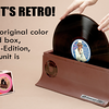 "Gizmo to SPIN CLEAN your VINYL RECORDS<br /> <a href=""http://SpinCleanRecordWasher.com"">http://SpinCleanRecordWasher.com</a><br /> $80+<br /> <br /> OR - do it YOURSELF!!!<br /> Cleaning A Vinyl Record With Wood Glue, Wait For The Satisfying Peel Sound... <br /> Hearing the satisfying sound when peeling off a layer of wood glue is half the fun when cleaning vinyl records. This trick works because the glue and record are somewhat chemically similar, so the glue only sticks to stuff that's not supposed to be there.<br /> <a href=""http://wimp.com/cleaningvinyl"">http://wimp.com/cleaningvinyl</a>"