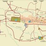 MAP: San Jose, Costa Rica  -  Central Valley