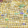 This is more of a Museum & key Tourist places Map featuring the downtown San Jose, Costa Rica Museo's