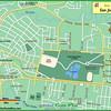 MAP OF:  SAN JOSE - Rohrmoser•Pavas - Sabana Oeste•West  •  Sabana Norte•North  •  Sabana Sur•South  •  Sabana Este•East - Sabana Parque•Park