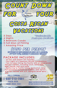 FISHING PACKAGES - JACO Fishing Costa Rica - https://facebook.com/FishingCostaRicaExperts CostaRicaFishingVacations - all inclusive fishing Vacation Packages by 100% local agency - Let us plan your #CostaRicafishingtrip!  COSTA RICA: (506)2643 2441 / (506)8819 1920 info@fishingcostaricaexperts.com / www.fishingcostaricaexperts.com TOLL FREE USA & CANADA: 1-800-213-7091