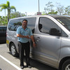 "Cathy hired WONDERFUL (& legal Tourism Van driver who speaks English & GETS North American level of Customer Service) <br /> ""AO"" (Abe Orozco)  -  8-654-3543  •  AbeOrozco@hotmail.com<br /> <br /> BASE:  Alajuela<br /> ."