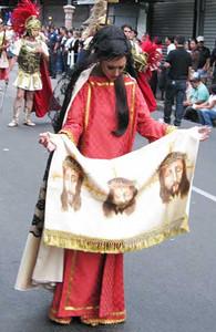Veronica - I think this was 2 Fridays before Easter/Samana Santa