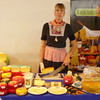 """LEKKERLAND Cheeses (I ESPECIALLY LOVE their """"BLACK LABEL"""" Gouda - it's SOOOO STRONG!!).<br /> <br /> You can find Lekkerland Cheeses at AutoMercado"""