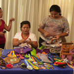 The ladies of Gail Nystrom's CRHF - Costa Rica Humanitarian Foundation  - http://CRHF.org  •  http://facebook.com/groups/156808054815  with their beautiful hand-made gifts!