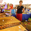 """Some BEAUTIFUL HAND-PAINTED (& custom available also) rugs, bags & other goodies from LAUREL's ORIGINALS - <a href=""""http://LaurelsOriginals.com"""">http://LaurelsOriginals.com</a><br /> (tell her Vicki Connected you!!)"""