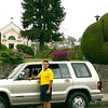 'Already have your own vehicle but don't want to drive it yourself?  Let one of our drivers drive you so you can ENJOY your time in Costa Rica!!<br /> <br /> Driver Frank Chicas at the BEAUTIFUL Zarcero Topiary Gardens, Costa Rica