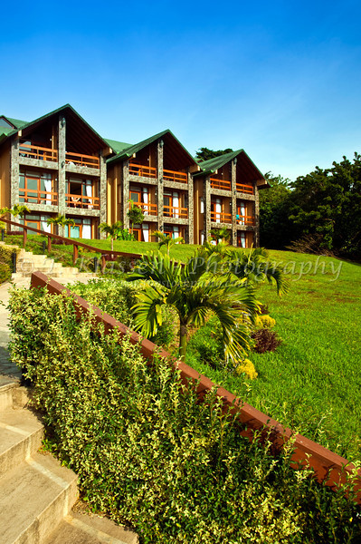 Exterior of the el Establo Hotel in Monteverde, Costa Rica, Central America.