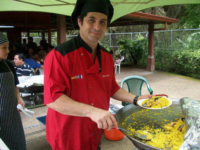 "Alex Montero - Boheme Bleu Catering -   Seafood Paella  Alex is a ""Culinary Artist"" specializing in Paellas, Tapas & Grille & what a Paella he makes!!  He had an AWESOME Paella & the rice was SOOO GOOD (if you know me, you KNOW I do NOT like rice but this was one of the tastiest I've EVER had!!)  8-881-5808 / http://BohemeBleu.com / Alex.Montero@BohemeBleu.com  https://Facebook.com/pages/Boh%C3%A8me-Bleu/97667603035"