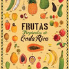"POSTER from <a href=""http://ZonaTropical.net"">http://ZonaTropical.net</a><br /> Frutas tropicales de Costa Rica  •  (Tropical Fruits of Costa Rica)<br /> 22.2"" X 33.4""  •  56.39cm X 84.84cm<br /> Costa Rica is home to an extraordinary variety of  tropical fruits.  This poster includes 38 exotic and native species, with English, Spanish, and scientific names listed.<br /> U.S. Retail: $15.00"