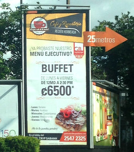 LUNCH SPECIAL • Menu Ejecutivo  -  BUFFET