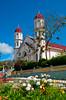 The San Rafael church in Zacero, Costa Rica, Central America.