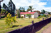 The village church in El Dos de Tillaram in Costa Rica, Central America.