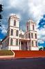 The Catholic church in the village of Sarchi, Costa Rica, Central America.