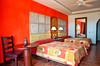 Hotel room at the Tamarindo Diria Hotel and Golf Resort, Guanacaste, Costa Rica, Central America.