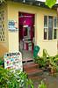 The village beauty shop in Tortuguero, Costa Rica, Central America.