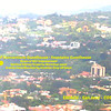 """A shot from a <a href=""""http://NatureAir.com"""">http://NatureAir.com</a> flight looking down onto the Escazu area.  See that BIG greenbelt in the middle?  That's part of our grounds!!!"""