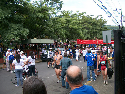 The Escazu Bruja Marathon - Sept. 11, 2011  (Ok - MUST admit I kept THIS pic because of that hottie in front!!)
