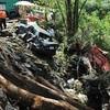 El 09_01_09, a las 13:40. Muertos por terremoto en la Catarata la Paz en barablanca. . En la foto, <br /> /Fotograf'a:Francisco Rodr'guez.E./la nacion.