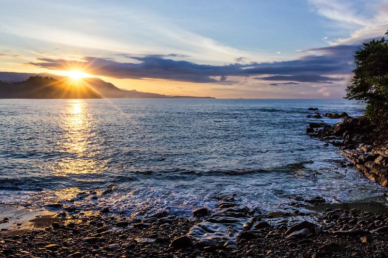 Sunrise near Dominical, Costa Rica