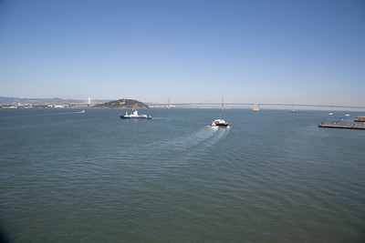 View of San Francisco Bay from the Grand Princess