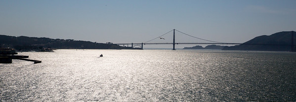 Heading towards the Golden Gate Bridge