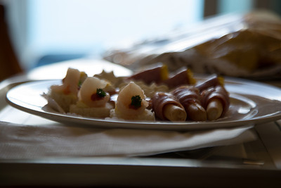 Canapes for the Afternoon Gathering