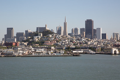 View of downtown San Francisco from the Grand Princess.